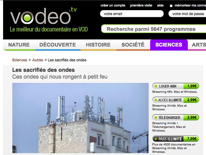Vodéo - reportage Les sacrifiés des ondes