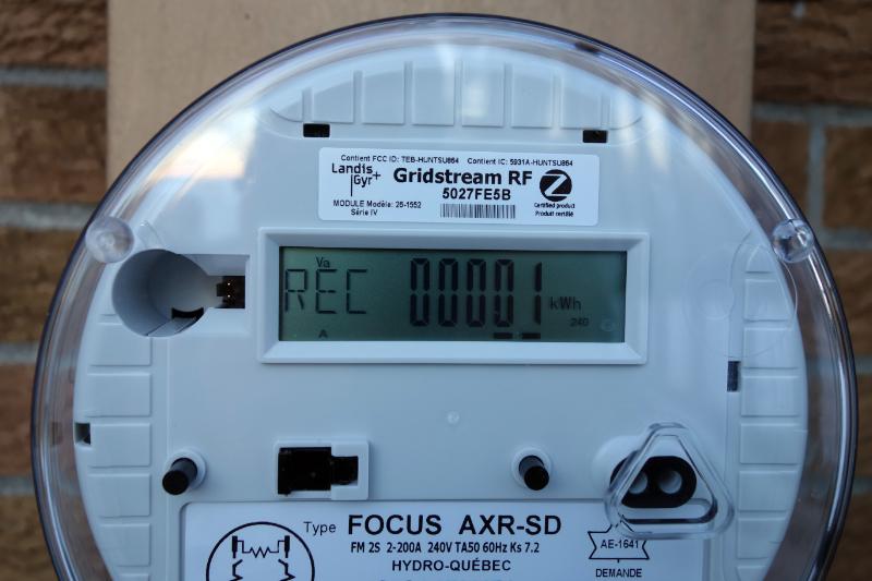 Panneaux solaires pv mon premier kwh inject sur le r seau d 39 hydro qu be - Compteur de production photovoltaique ...