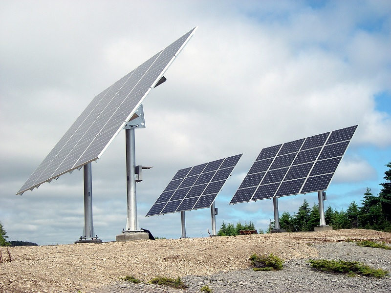 Système solaire de 12kW de la SEPAQ a Anticosti