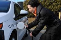 Martine Ouellet - programme Branche au travail - bornes de recharge pour voitures électriques