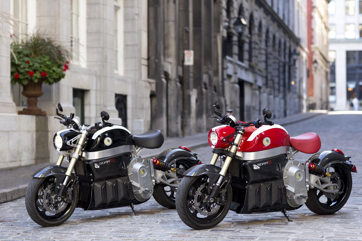 L'agglomération de Longueuil innove avec les deuxpremières motos entièrement électriques 100% longueuilloises
