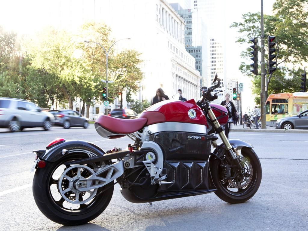 Moto électrique SORA de LITO Green Motion