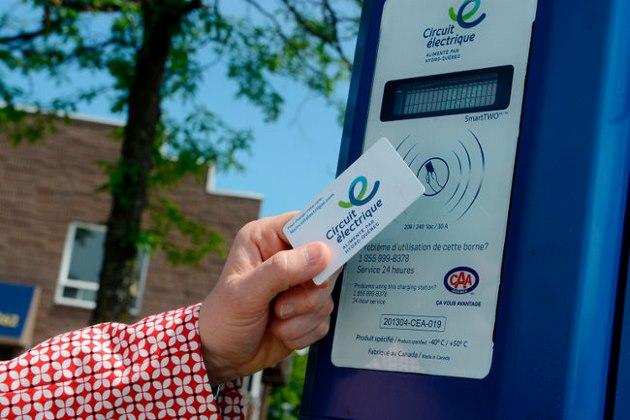 Premières bornes de recharge du Circuit électrique en Abitibi-Témiscamingue