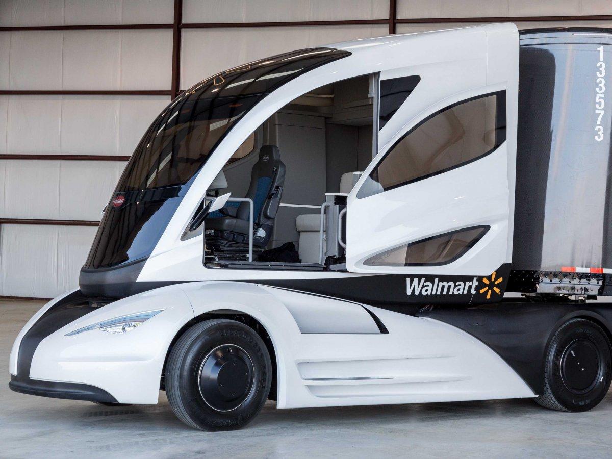 WAVE – le camion semi-remorque électrique à autonomie prolongée de Walmart