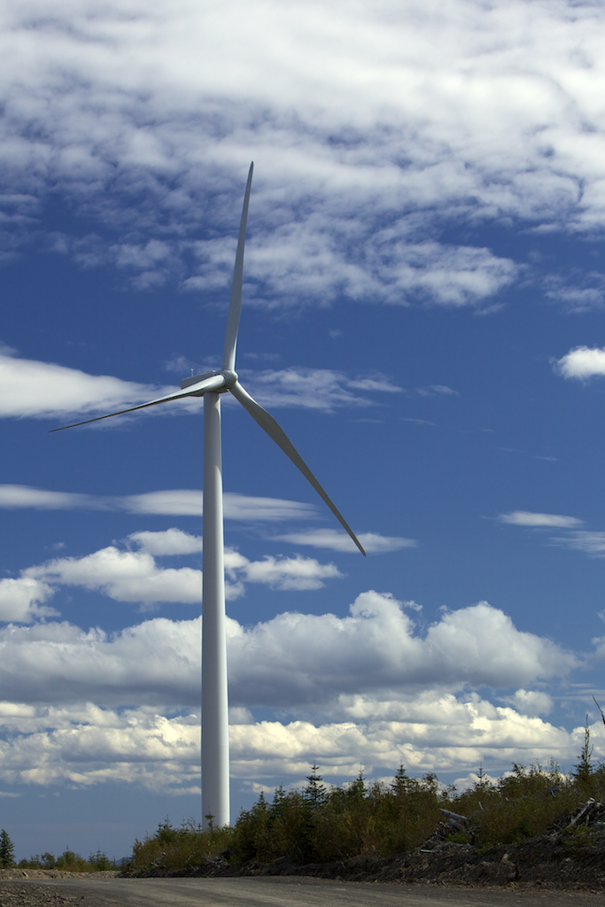 Innergex - éoliennes Gaspésie Mig'mac