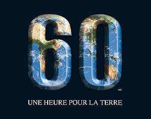 Une heure pour la Terre – La Ville de Montréal invite les Montréalais à éteindre leurs lumières le samedi 28 mars à 20 h 30