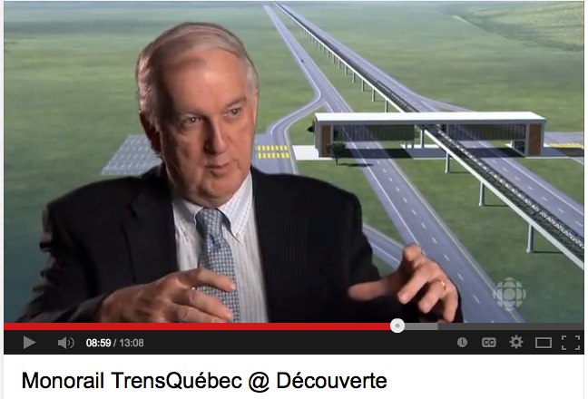 Pierre Couture dépossédé de son projet de monorail à moteurs-roues ?