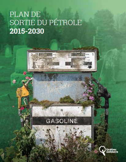 Québec Solidaire - Plan de sortie du pétrole