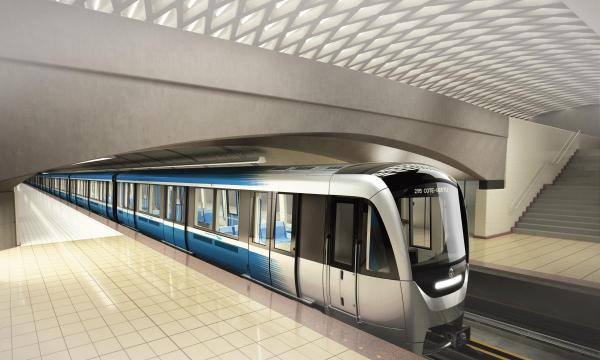 AZUR arrive à Montréal : La STM reçoit le premier train prototype