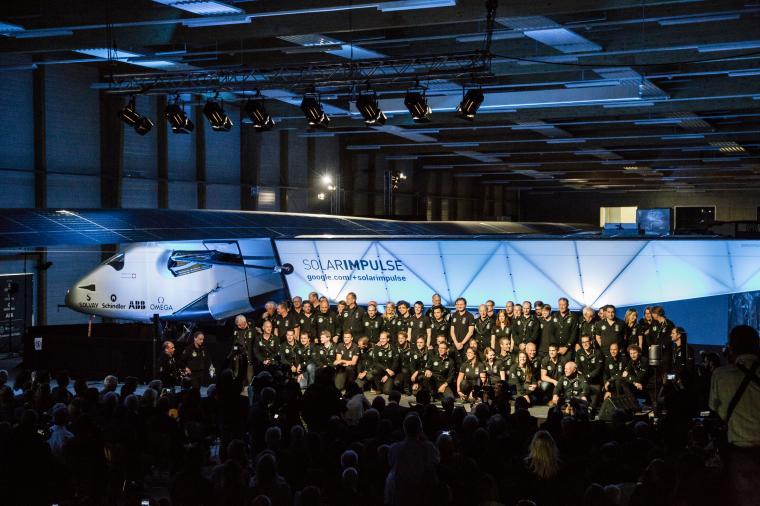 Lancement avion solaire Solar Impulse 2