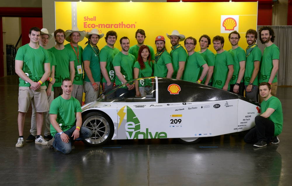 L'Université de Sherbrooke remporte l'Eco-marathon Shell Americas 2014