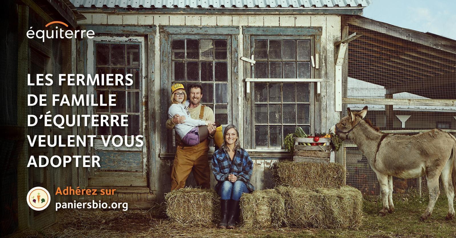Fermiers de famille - paniers de légumes locaux biologiques 2014