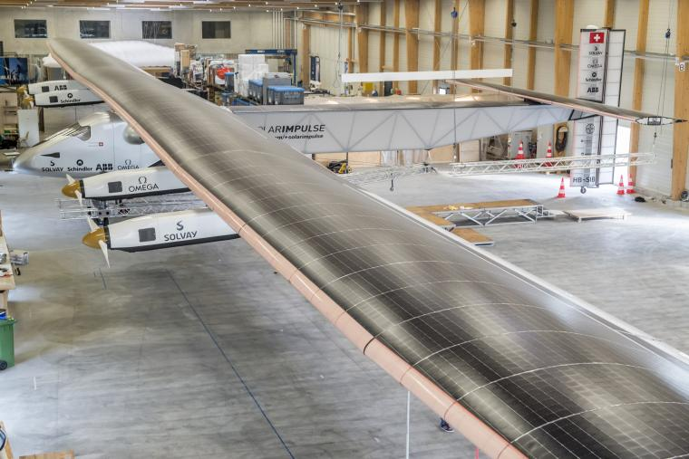Avion solaire Solar Impulse 2