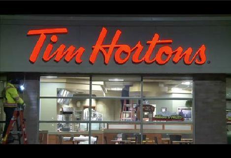 Tim Hortons effectue le lancement d'un nouveau programme d'éclairage à DEL