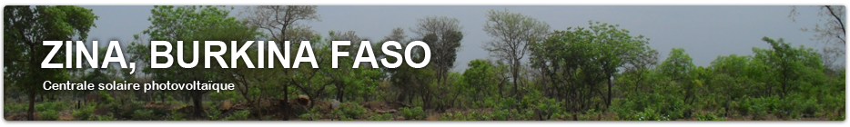Une centrale solaire photovoltaïque de 20 mégawatts au Burkina Faso