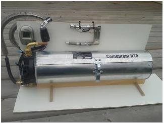 Doper le moteur des poids lourds à l'eau en attendant de pouvoir les électrifier
