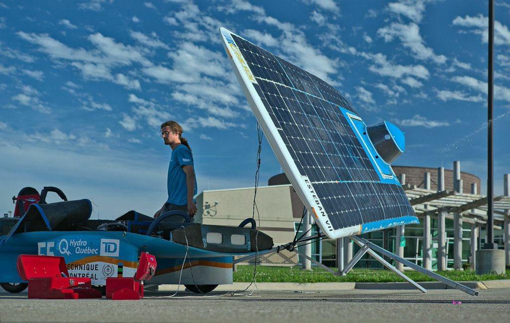 Polytechnique Montréal termine à la 4 ième position avec Esteban VII lors de l'American Solar Challenge