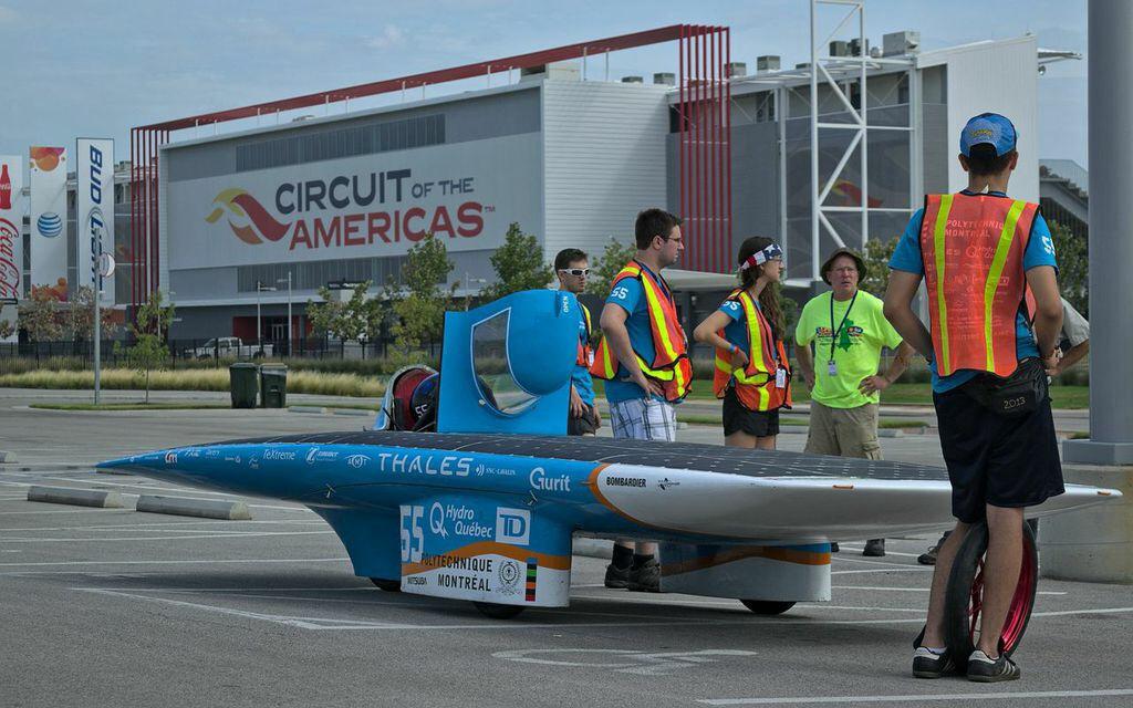 Voiture solaire Polytechnique Montréal Esteban VII - American Solar Challenge