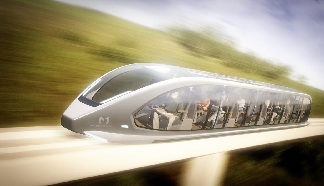 Un prototype de monorail rapide à lévitation magnétique en Alberta