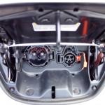 Ports de recharge CHAdeMO et de niveau 2 Nissan LEAF 2013