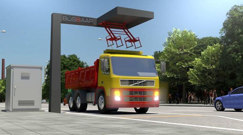 Recharges rapides pour les camions lourds hybrides rechargeables ou tout électrique