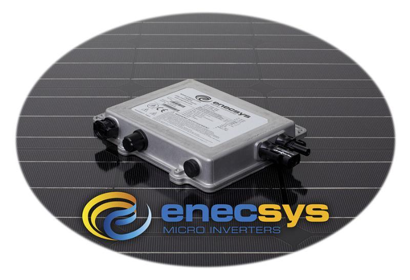Micro-onduleur pour panneaux solaires photovoltaïques Enecsys