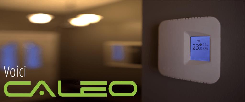 Thermostat intelligent électronique pour plinthes électriques CaSA Caleo
