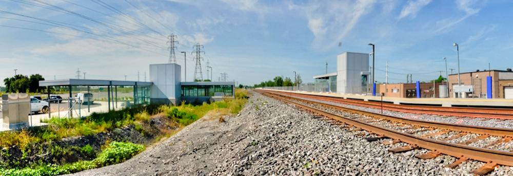Ligne Mascouche – Inauguration de la gare Anjou