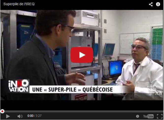 Une super-batterie pour Hydro-Québec