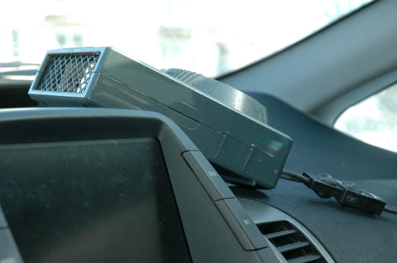 Chaufferette électrique Pyroil pour voiture 120V