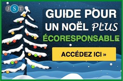 Guide Noël plus écologique