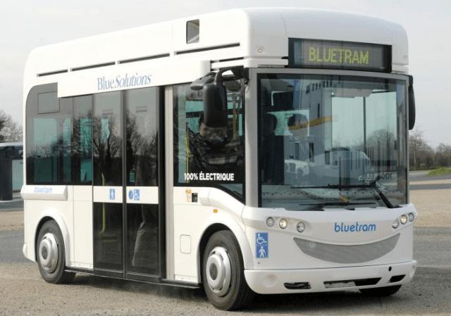 Autobus electrique Bolloré Bluetram