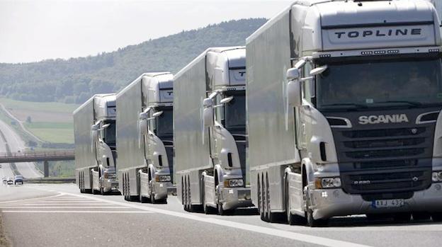 camions autonomes amélioration aérodynamisme