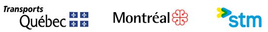 Logos partenaires retard métro de Montréal AZUR