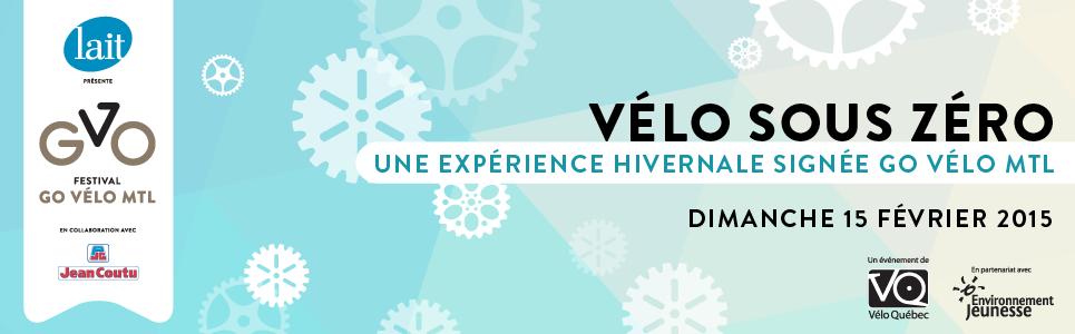 """La deuxième édition de """"Vélo sous zéro"""" se tiendra le dimanche 15 février à Montréal"""