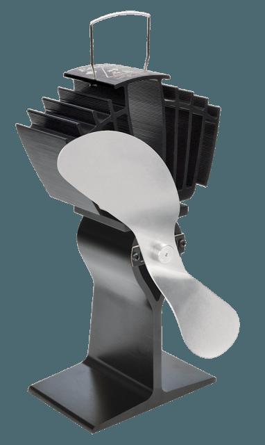 Ventilateur sans électricité pour poele à bois et granules Caframo Ecofan