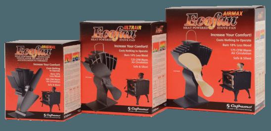Découvrez nos ventilateurs pour poêle à bois et granules Écofan