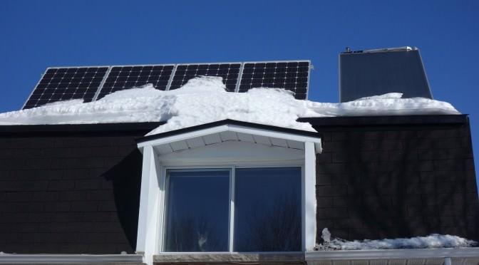 Production solaire photovoltaïque: février 2015, mon pire mois à ce jour