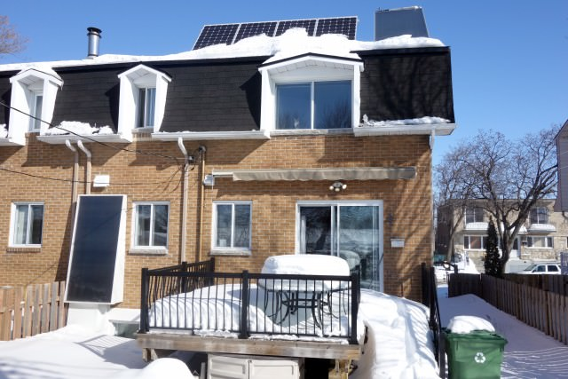 Panneaux solaires photovoltaique et thermique - Montréal / Québec
