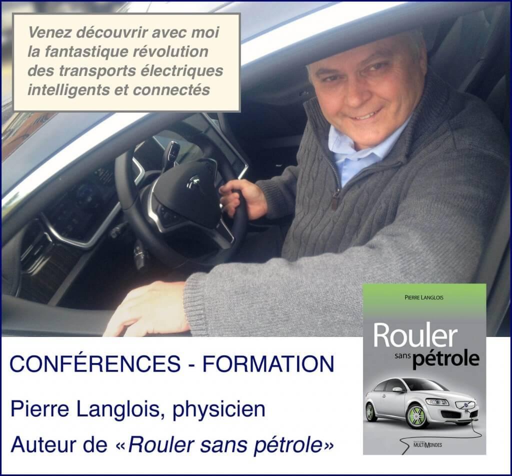 Pierre Langlois - physicien spécialiste en électrification des transports