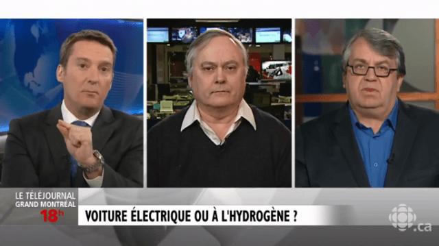 Débat voiture électrique ou à hydrogène - Pierre Langlois / Marc Bouchard