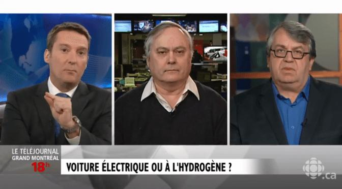 Retour sur le reportage et le débat du Téléjournal sur la voiture à hydrogène