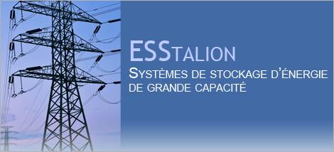 Technologies Esstalion – Essais du premier prototype de stockage d'énergie de grande capacité