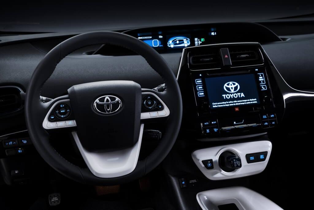 Tableau de bord Toyota Prius 2016