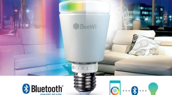 Découvrez les ampoules DEL connectées bluetooth de BeeWi