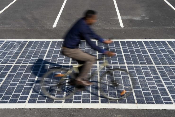 Route solaire Wattway de Colas