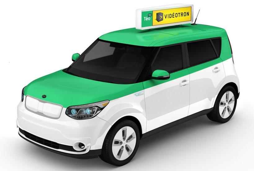 Taxi electrique Kia Soul EV