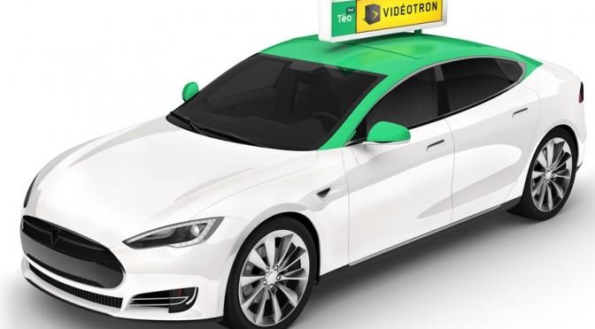 Taxelco lance Téo, le taxi réinventé à Montréal