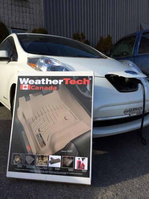Tapis hiver Weathertech pour Nissan LEAF