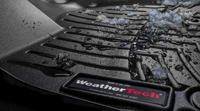 Des tapis d'hiver Weathertech pour ma Nissan LEAF